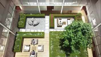 3173 courtyard