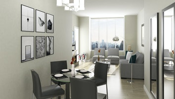 9162 2 bed living dining