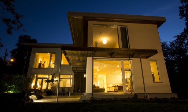 Bernhardt passive house in Saanich BC passive house technology