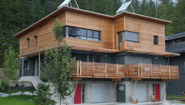 Passive house example in Whistler BC
