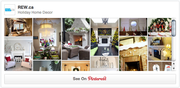 Home holiday decor pinterest board