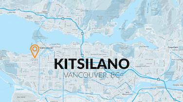 Neighbourhood Focus Infographic: Kitsilano
