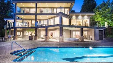 Try to Restrain Your Pool Envy at $9.2m West Van Palace