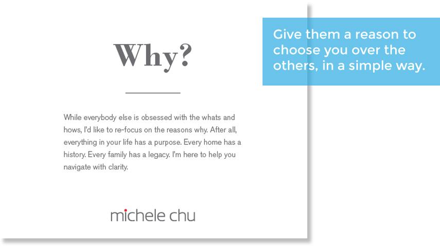 Client centric ad Michelle Chu