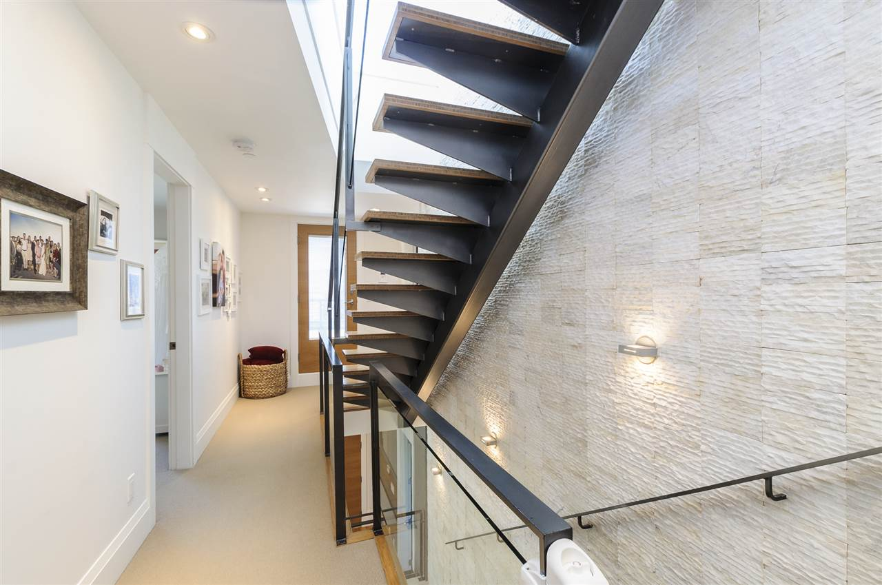 West Coast Modern Home Staircase