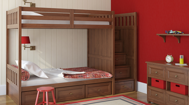 Space-Sharing Solutions for Kids' Small Condo Bedrooms