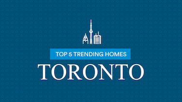 Top 5 Most Viewed Homes Toronto: April 10-16
