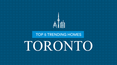 Top 5 Most Viewed Homes Toronto: April 17-23