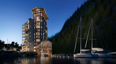 Meet the Condo That Comes With A Boat