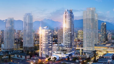 An investment in location and luxury in the heart of Metrotown