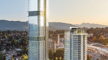 Smith & Farrow: Soaring 46 Storeys Above West Coquitlam