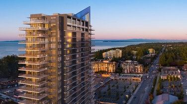 Soleil is set to become a landmark in the White Rock skyline