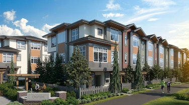 Crofton Living combines beauty with larger, family-sized townhomes