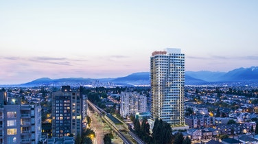 Westbank's JOYCE is the first new condominium tower around Vancouver's Joyce-Collingwood neighbourhood in two decades