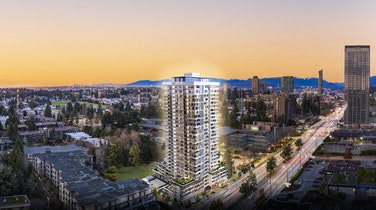 In the heart of Surrey City Centre - an emerging and dynamic metropolis - Square Nine Developments' Belvedere will rise