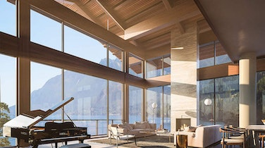 Discover West Coast Modern Waterfront Living at Westbank's Horseshoe Bay Sanctuary