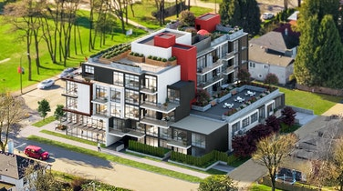 Ava's great Vancouver location amongst quiet, tree-lined streets, multi-functional features and amenities = a perfect work/live lifestyle