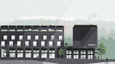 A rare townhome and condo development is coming to East Vancouver's Strathcona neighbourhood