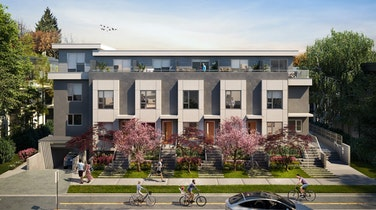 Kai - The most anticipated boutique townhome project in the heart of Vancouver's beloved Kitsilano neighbourhood