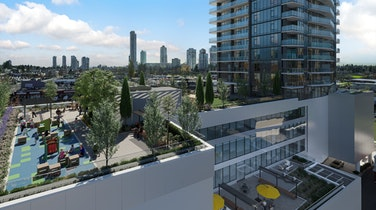 Awesome amenities, access to private rooftop patio and sophisticated interiors – welcome to Surrey's The Grand on King George
