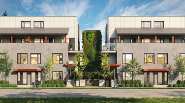 Templeton by Dimex Group is leading the way in Sustainable Living - its newest collection of Passive Homes in one of Vancouver's hippest, pedestrian-friendly neighbourhood - The Drive