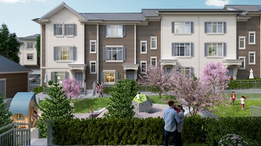 Holloway at The Boroughs is a collection of neo-Georgian inspired townhomes in the prestigious Grandview Heights neighbourhood