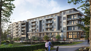 Nestled on a park side street in Surrey City Centre, Porte Homes' Quinn is perfect for young families