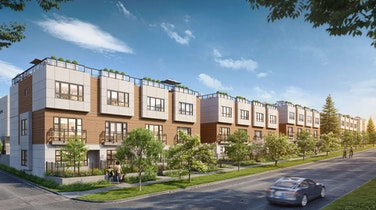 Single-family style parkside living at West Side's newest Townhome Development Lilibet