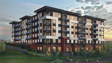 Essence Properties' Eastin is a technology-driven six-storey low rise in Langley's highly desirable Willoughby neighbourhood
