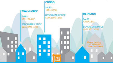 Infographic: Fraser Valley Real Estate, January 2015