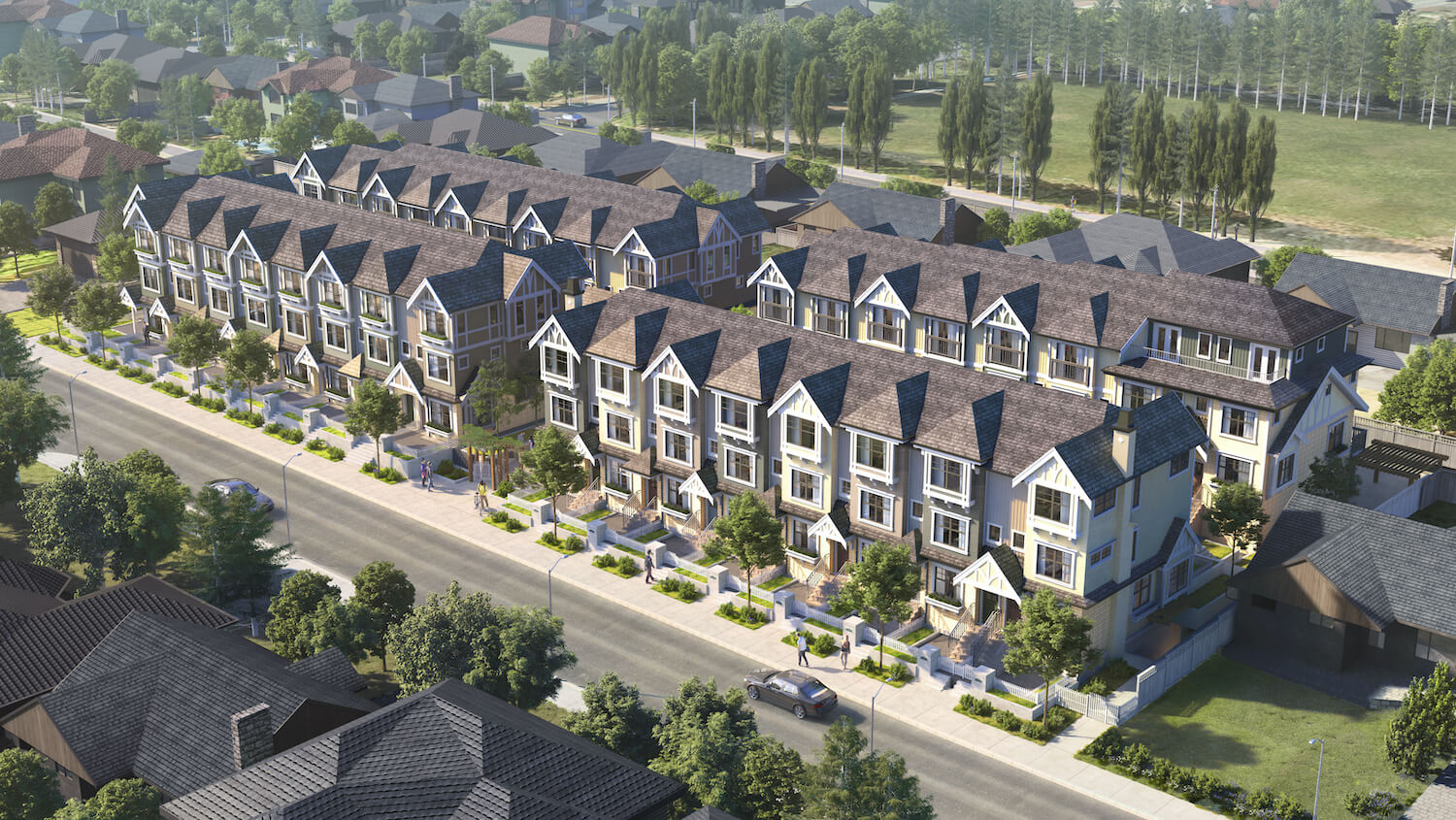 The Robinsons Aerial Rendering