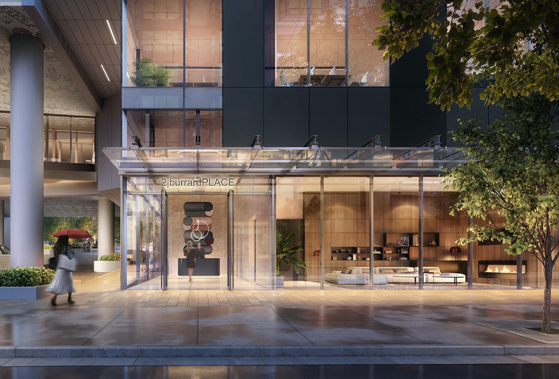 2 Burrard Place - Lobby