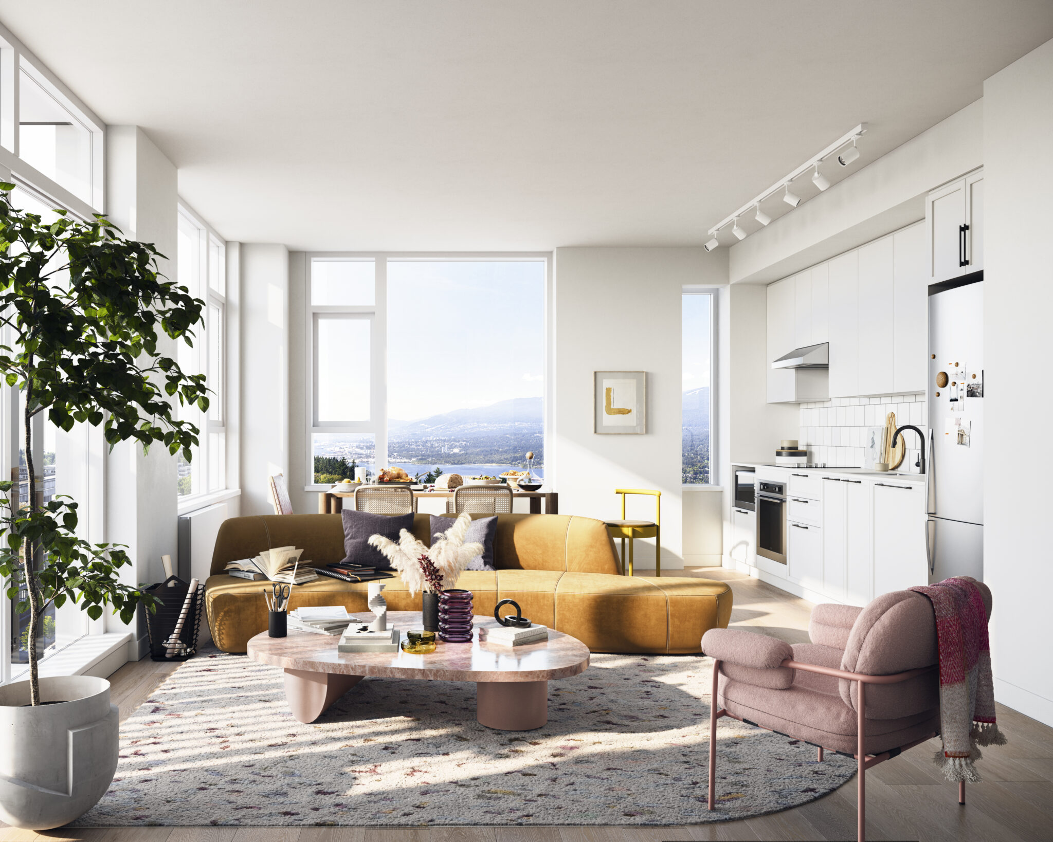 Hamilton - Living Room