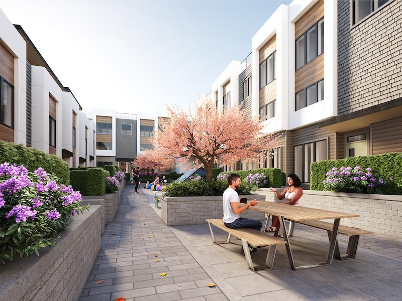Avenue 33- courtyard