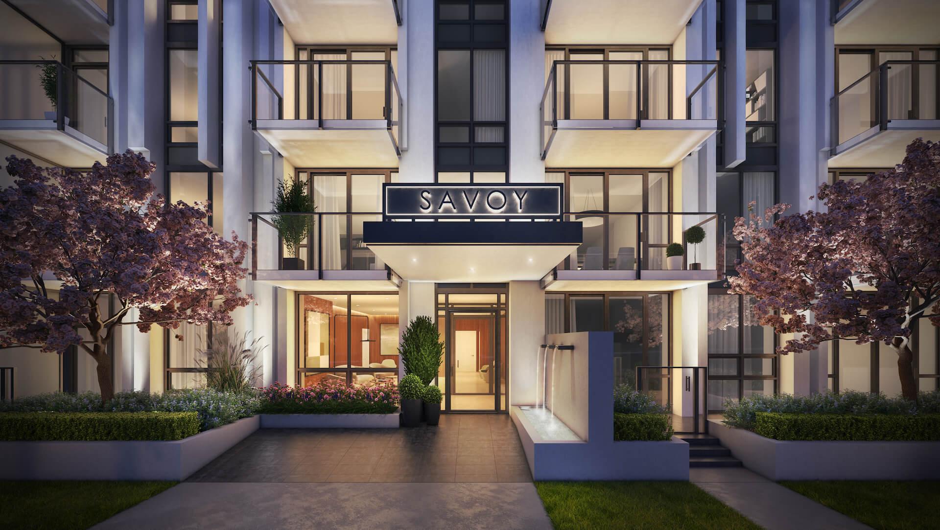 Savoy - Entrance